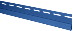 Сайдинг Планка финишная, 3000 мм, цвет Синий