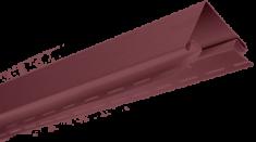Планка наружный угол Гранатовая Т-12 - 3,00м