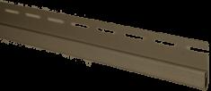 """Планка """"финишная"""" Орех тёмный Т-14  -  3000 мм"""