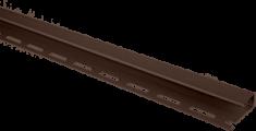Планка отделочная для откосов, 3000 мм, цвет Коричневый
