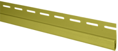 """Сайдинг Планка """"финишная"""", 3000 мм, цвет Оливковый"""
