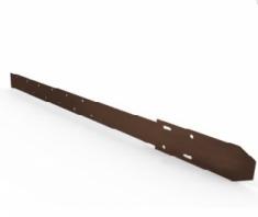 Удлинитель кронштейна Металл, цвет коричневый