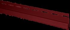 """Сайдинг Планка """"финишная"""", 3000 мм, цвет Красный"""