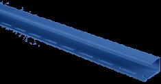 """Сайдинг Планка """"J - trim"""", 3000 мм, цвет Синий"""
