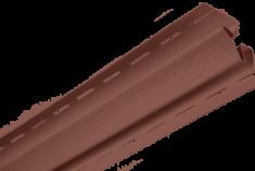 Планка внутренний угол Красно-коричневая Т-13  -  3,00м (А)