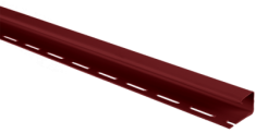 "Планка ""J - trim"" Красная Т-15 - 3000 мм"