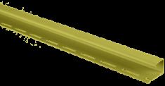 """Сайдинг Планка """"J - trim"""", 3000 мм, цвет Оливковый"""