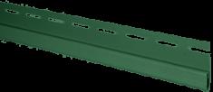 "Сайдинг Планка ""финишная"", 3000 мм, цвет Зелёный"