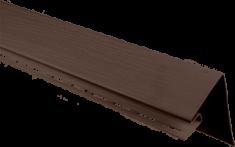 """Планка """"околооконная"""" коричневая Т-17  -  3,00м."""